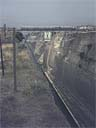 Corinth canal from road bridge | May 1971