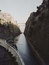 transiting the Corinth canal | May 1971