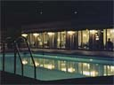 Bellver Hotel swimming pool at night | April 1973