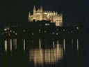 Palma cathedral at night | April 1973