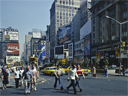 Times Square by day | dig the flared trousers! | August 1978