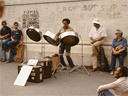 steel pan solo | Washington Square Arch | August 1978