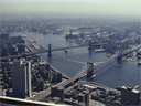 view of East River | from World Trade Center | August 1978