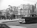 dolmus (shared taxi) | crossing Galata bridge [conv.b/w] | April 1980