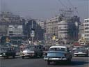 cars on Galata bridge | April 1980