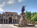 Cathedral/Columbus statue | Parque Colon, Santo Domingo [HDR1] | Xmas 2007