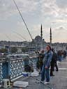 fishermen on Galata Bridge | at sunset [HDR1] | October 2011
