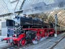 steam-hauled special | Dresden Hauptbahnhof [HDR1] | April 2015